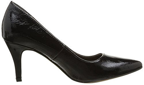 Tamaris 22447, Escarpins femme Noir (Black Patent 18)