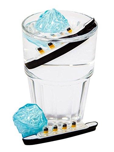 KULTFAKTOR GmbH Getränkekühler Titanic Eiswürfel-Set 2-teilig Party-Gadget bunt Einheitsgröße