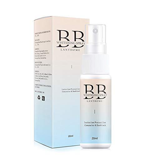 LANTHOME - Crema solar en spray para el rostro, 20 ml, protector solar, spray hidratante resistente al agua