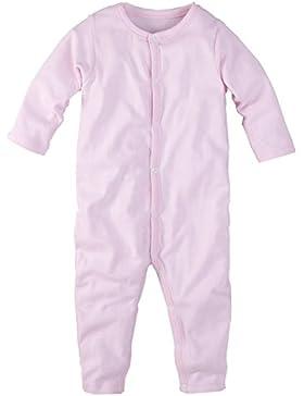 wellyou Baby und Kinder Schlafanzug/Pyjama aus Baumwolle in rosa weißen