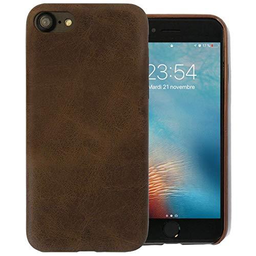 66464f7e050779 VITO GOSE ACCESSOIRES Coque en Cuir Marron pour iPhone 6   6S en Cuir PU  étui