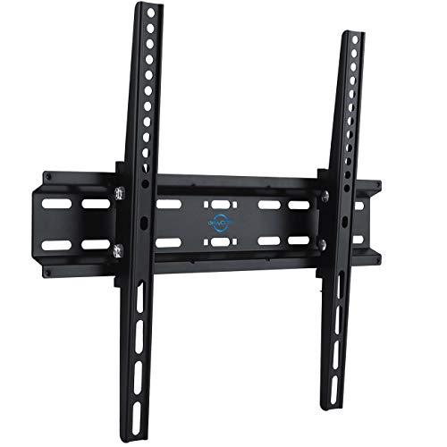 """deleyCON Universal TV Wandhalterung 32""""-55"""" Zoll (81-140cm) Neigbar - 35Kg - bis VESA 400x400 - Plasma LCD LED OLED TFT Fernseher Halterung Halter"""