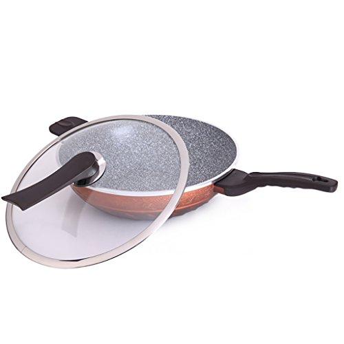 NUBAO Maifan Stone Cookware Wok Cooker Cooker Universal Korea Smoke-free Flat Smokeless Cookware 32cm