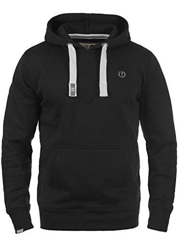 !Solid BennHood Herren Kapuzenpullover Hoodie Pullover mit Kapuze und Fleece-Innenseite, Größe:S, Farbe:Black (9000) -