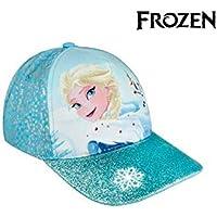 Cerdá Premium Frozen Elsa Gorra de Tenis, Niñas, Azul, 52-58 cm