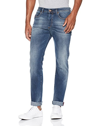 Diesel Herren Straight Jeans Blau (900 - Denim 01)