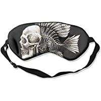 Sleep Eye Mask Skulls Humor Fish Lightweight Soft Blindfold Adjustable Head Strap Eyeshade Travel Eyepatch E13 preisvergleich bei billige-tabletten.eu