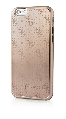 Guess 4G Collection Etui pour iPhone6/6S Or Métal