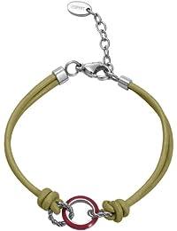 Esprit Marin - 68 ESBR11587F170 - Bracelet en Acier inoxydable plaqué rhodium - Femme de plastique 17 cm
