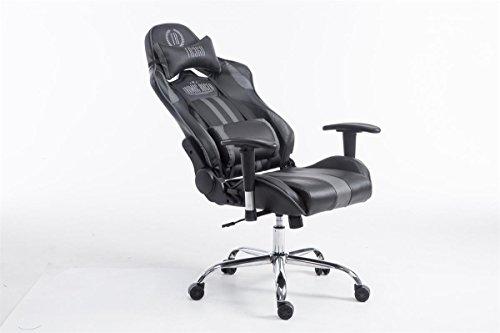 Sedie Da Ufficio Con Braccioli Senza Ruote : Clp sedia gaming da ufficio limit xl similpelle capacità carico