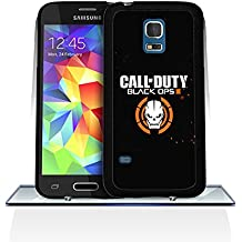 Funda Case Cover for Samsung Galaxy S5 Mini Call of Duty: Black Ops III, Creative Call of Duty: Black Ops III Games Samsung S5 Mini Funda Case Durable Dust proof Hard Back Shell - Call of Duty: Black Ops III Image Unique Design Gift For Friends