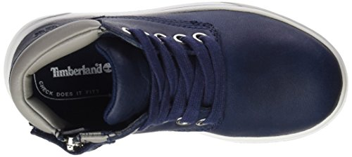 Timberland Unisex Baby Groveton Leather Chukkablack Lauflernschuhe, Blau (Black Iris Escape Full Grain), 27 EU -