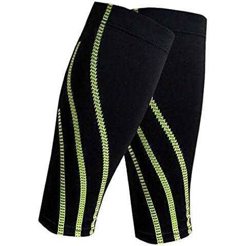 BXT-Coppia di Progressive rimedio a compressione da uomo, maniche, pantaloni, ecc., per la palestra, ciclismo da corsa Crossfit da basket, calcio, Sport