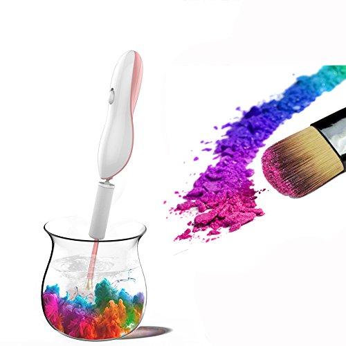 Limpiador de brochas de maquillaje–limpiador...