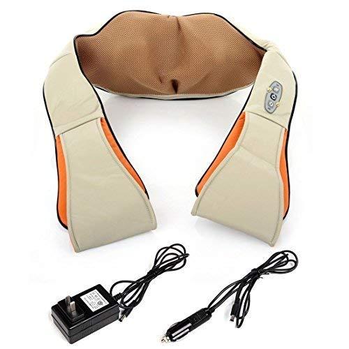 Preisvergleich Produktbild WSS - Hals Schulter-Massagegerät für Relax & Relief Muskeln Schmerzen (komplett mit In Car,  Office & Home Charger)