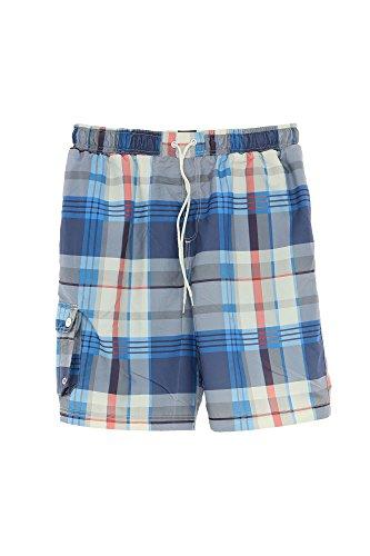 Kitaro Badeshort Short Herren Badehose, Herrengrößen:M, Farbe:blau