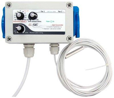 GSE régulateurs de pression digital fancontroller climat climatisation