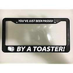 Passed By Toaster Jdm Drift Tuner Fun Racing Car Scion License Plate Frame New Auto Car Novelty Accessories License Plate Art