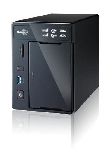 Gebraucht, Thecus N2800 NAS-Server (Intel Atom D2700, 2GB RAM, gebraucht kaufen  Wird an jeden Ort in Deutschland