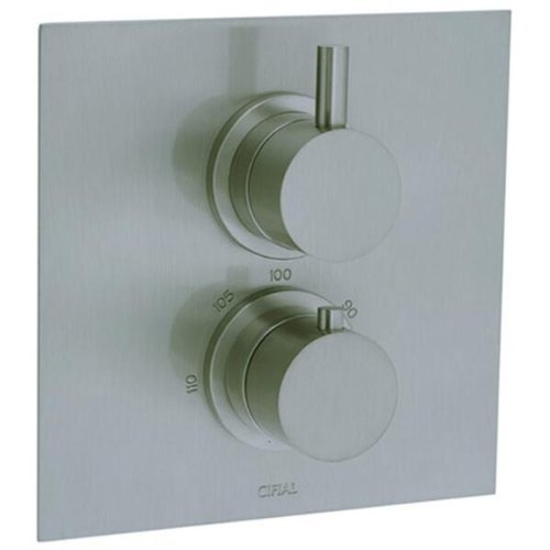 cifial-221614620-techno-thermostatic-valve-trim-with-volume-control-satin-nickel-by-cifial