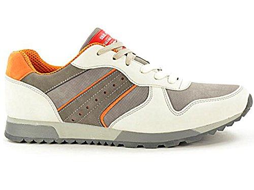 Foster Footwear , Bottes Classiques garçon mixte adulte homme femme blanc/orange