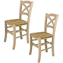 Amazon.es: sillas de comedor clasicas
