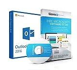 Original Microsoft® Outlook 2016 Lizenzschlüssel + Lizenza ISO CD / DVD für 32 und 64 bit Deutsch inklusive Workstation 2016 für Office