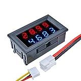 ILS - DC 100V 10A 0,28 pollici Mini Digital voltmetro amperometro 4 Bit 5 Fili tensione misuratore corrente con LED doppio display