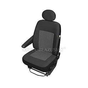 ZentimeX Z980374 Sitzbezüge Fahrersitz / Einzelsitz Armlehne rechts Stoff Airbag-Kompatibel