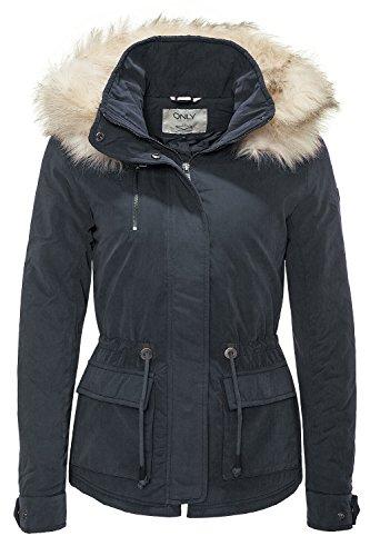 Only Damen Winterjacke Parka Kurzmantel Wintermantel (XS, Colour 1)