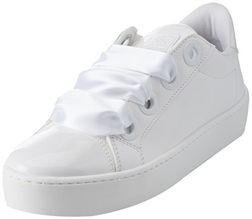 Guess Damen Footwear Active Lady Sneaker, Weiß White, 39 EU