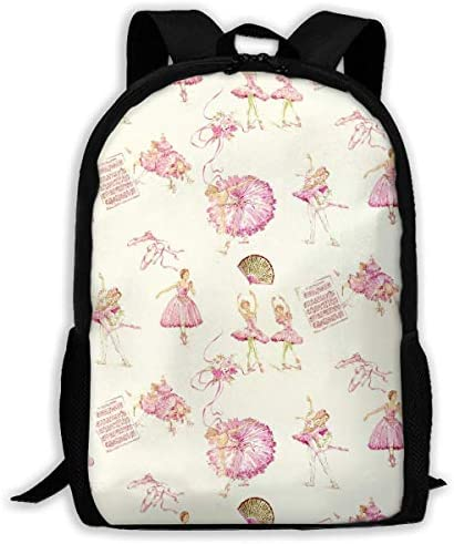 Baby Ballerina Pattern Pattern Pattern Backpack Shoulder Bag For Adult   Germania    Prodotti Di Qualità    Per Vincere Una Ammirazione Alto  26e4fe