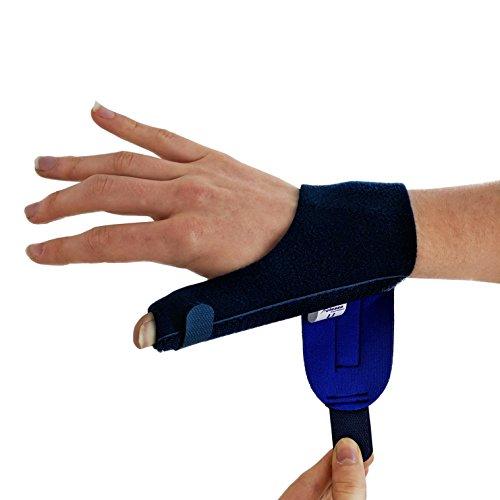 Zoom IMG-2 tutore pollice stecca spiga blu