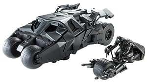 Mattel - Batman The Dark Knight - M1113 - Accessoires  - Batmobile 2 En 1 Tdk