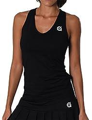 a40grados Sport & Style Cielo - Camiseta de tirantes para mujer, color negro, talla M