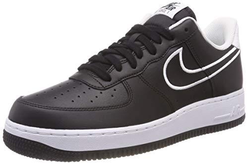 Nike Herren Air Force 1 '07 Lthr Hallenschuhe, Schwarz (Black/White 001), 40 EU -