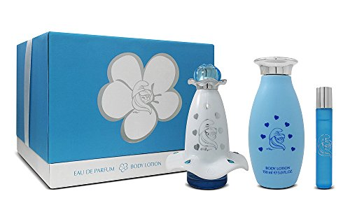 Die Schlümpfe Schlumpfine Mania Eau De Parfum Spray und Bodylotion Geschenk Set