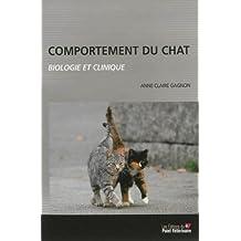 Comportement du chat : biologie et clinique