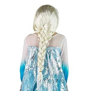 Bodysocks Peluca de princesa Elsa