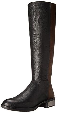 Circus by Sam Edelman Women's Roxie Winter Boot, Black/Bronze, 6 M US