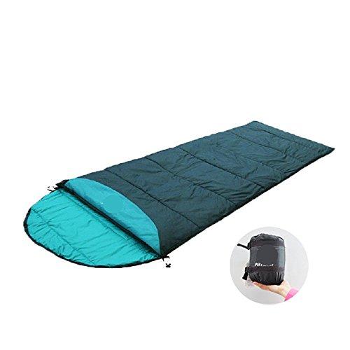 HXoutdoor im Frühjahr und Sommer Camping - Pause, Zwei Leute Spielen Können die Superleichte Mini - Erwachsenen - Schlafsack,Grüne