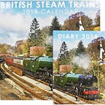 calendar and diary set british steam trains 2018 will make a great christmas gift