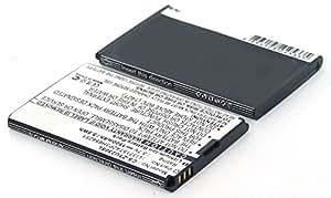 Compatible avec téléphone portable zTE lI3712T42P3H654246H avec batterie li-ion 3,7 v/1500 mAh