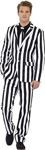 Men's Humbug Striped Suit. Medium, Large or X-Large