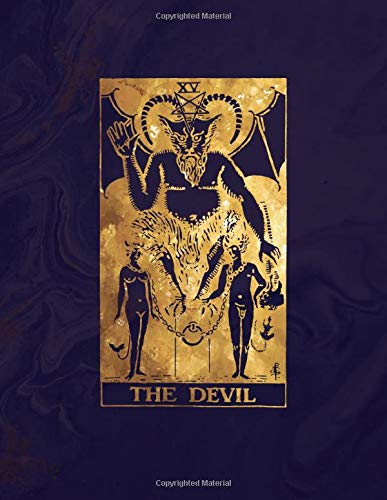 The Devil: Dot Grid Notebook   8.5 x 11 - A4 Notebook   Midnight Marble and Brilliant Gold Design - Bullet Journal (Marble and Gold - Dotted Grid Notebook, Band 1)