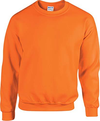 Sweatshirt Heavy Blend - Farbe: Safety Orange - Größe: XXL