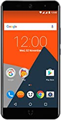 "Wileyfox Swift 2 Plus - 5.0"" HD 32GB with 3GB RAM (Dual SIM 4G) SIM-Free Smartphone Android Nougat 7.1.1  - Midnight"