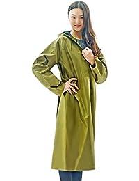 Abbigliamento sportivo Turismo allAria Aperta e Poncho Traslucido Portatile Raincoat FEIZIimpermeabile in PVC