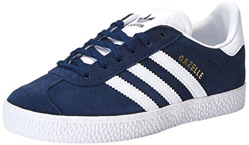 adidas Unisex-Kinder Gazelle Sneaker, Blau (Maruni/Ftwbla 000), 28 EU
