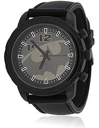 5dd1b75973bc Reloj de Pulsera con Emblema de Batman Gris y Logo de Bronce de cañón
